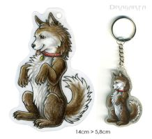 Keychain for Paja by Dragarta