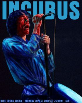 Incubus: Brandon Boyd by z32power
