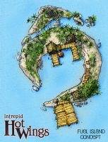 Intrepid Hotwings - Fuel Island Concept by ChristianHolmes