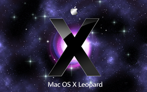 Apple Mac OS X leopard by richworks