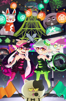 Splatfest by lunatic-neko