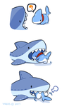 Shark Plushie by 0Vress0