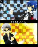 Persona - 3 x 4 by graff-eisen