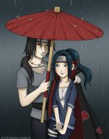 Itachi and Ayumi by Stephany-Q-Vin
