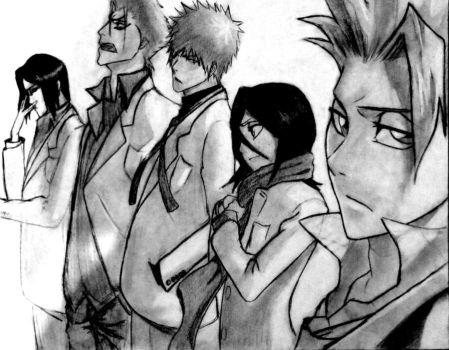 Bleach Drawing for Contest by Sikaida