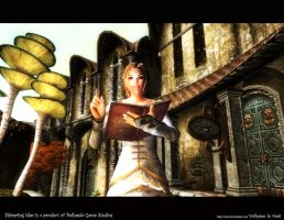 Oblivion Wallpaper Yellow by Oessi