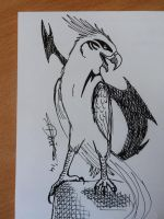 Inktober day 17 by The-fox-of-wonders