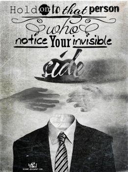 Invisible quote by hicmoul