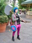 Ramona Flowers at San Japan 2014, Samurai Seven by LumpySnorlax