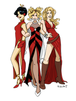 Gotham Girls 2011 by msciuto