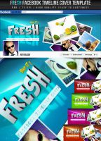 PSD Fresh Facebook Timeline Cover by retinathemes