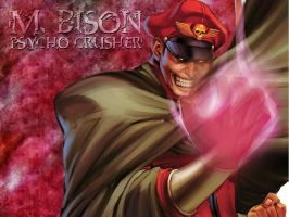 M. Bison Background by warpzone116