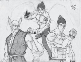 Mishima Clan by dsx100