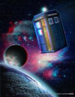 3D TARDIS (Red and Blue Glasses Required) by DavidRivera