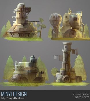 Undisclosed Project - Building Concept by Minyi
