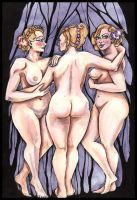 The three graces by modgud-merry