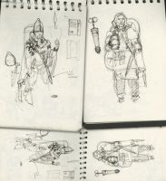 Sketchbook or Daybook 020 by hesir