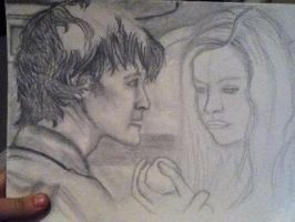 The doctor and amy WIP by pegasuslolly