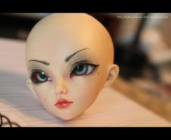 My Second BJD Makeup by MySweetQueen-Dolls