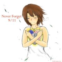 Never Forget 9 11 by Kaotheroogoncreator