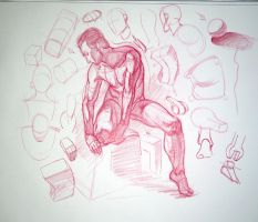 Analytical Figure Drawing Demo (Video!) by dangerousllama