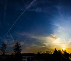 sun leaving again by DanielGliese