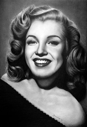 Young Marilyn by Joanna-Vu