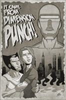 Punches From The Punch Dimension by drawerofdrawings