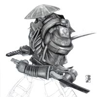 Samurai Robot Guy... thing by Legato895