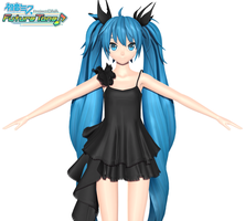 Deep Sea Girl Miku | Project Diva Future Tone by Malik-Hatsune
