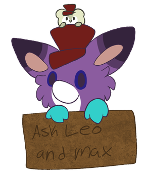 Ask Leo and Max by Fuzzy-Draws-BBs