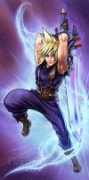 FF Dissidia: Cloud Strife by Risachantag