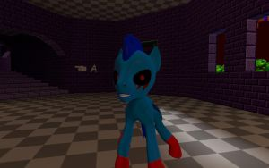 [DL] Sonic.EXE [Pony Version] by TheDarkDash