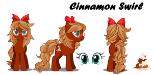 Cinnamon Swirl Reference Sheet by Wicklesmack