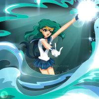 Sailor Neptune - Deep Submerge by Niko-Gami