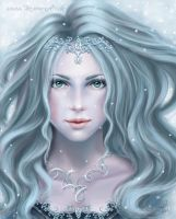 iceprincess by TatjanaArt