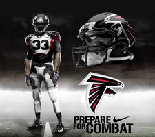 Atlanta Falcons Away Uni by DrunkenMoonkey