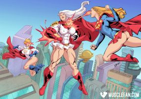 Super Suprema by muscle-fan-comics