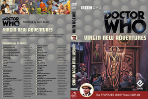 Doctor Who - Virgin New Adventures - DVD Cover by Guensche