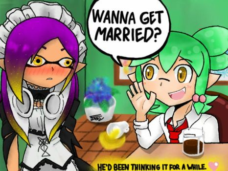 Wanna Get Married? by Trying-to-Draw