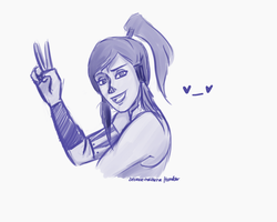 Korra here! by annogueras