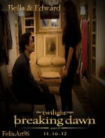 BDP2 Bella and Edward in the Cottage by fillesu96