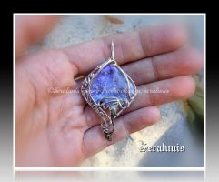 'Fairy tale' handmade sterling silver pendant SOLD by seralune