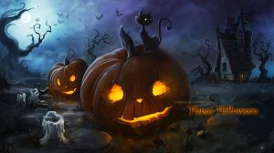 HappyHalloween2014 by LadyOwl