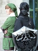 Link Shadow Link Fanime '10 by catqueen13