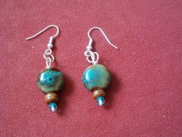 Bead Earings 2 by thepapercraftcouple