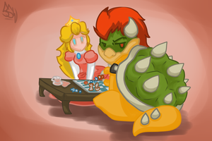 Go away, we're playing chess... by SuperSmashWolves