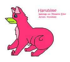 Haruhime for Contest Entry by starrytesukidust