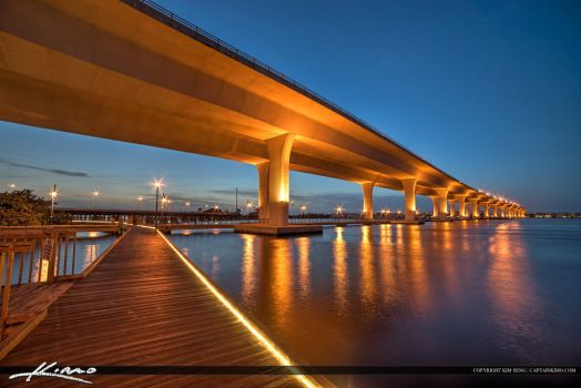 Roosevelt-Bridge-Stuart-Florida-Boardwalk by CaptainKimo