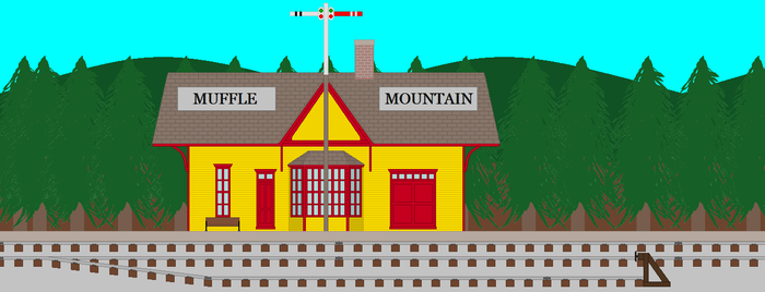 Muffle Mountain Station by pauloddd2007